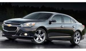 Пересмотренный передний конец Chevrolet Malibu создан под влиянием новой Импалы.