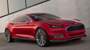 Недавно было замечено тестирования прототипа Mustang 2015, а эта картинка концепции Evos Форда обеспечивает лучшее представление о том, что мы можем ожидать от нового Mustang.