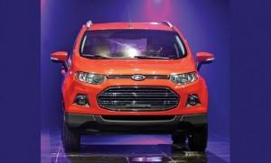 Кроссовер Форд EcoSport был разработан в Бразилии и основан на платформе Fiesta.
