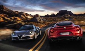 Спортивный автомобиль Alfa Romeo 4C