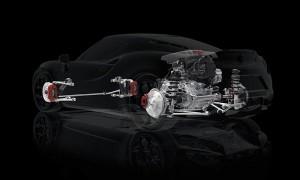 Система подвески Alfa Romeo 4C
