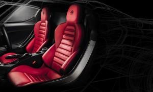Великолепные сидения... и отличный двигатель прямо позади Вашей головы.