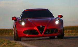 Уникальный свет на Alfa Romeo 4C