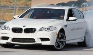 Дрифт водителем BMWна 51 милю для попадания в  Книгу Рекордов Гиннеса.