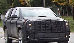 Шпионские снимки Cadillac Escalade 2014