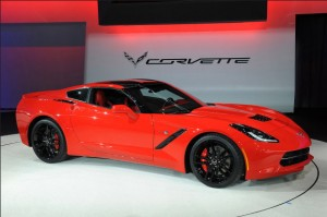 Chevrolet Corvette Stingray 2014 на Detroit 2013