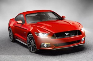 Ford Mustang 2015 года