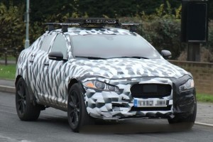 Jaguar SUV Mule