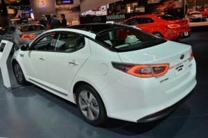 Kia Optima Hybrid 2014 модельного года