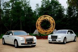 Rolls-Royce Ghost Golden Sun Sunbird
