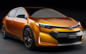 Концепт Toyota Corolla Furia на авто шоу в Детроите